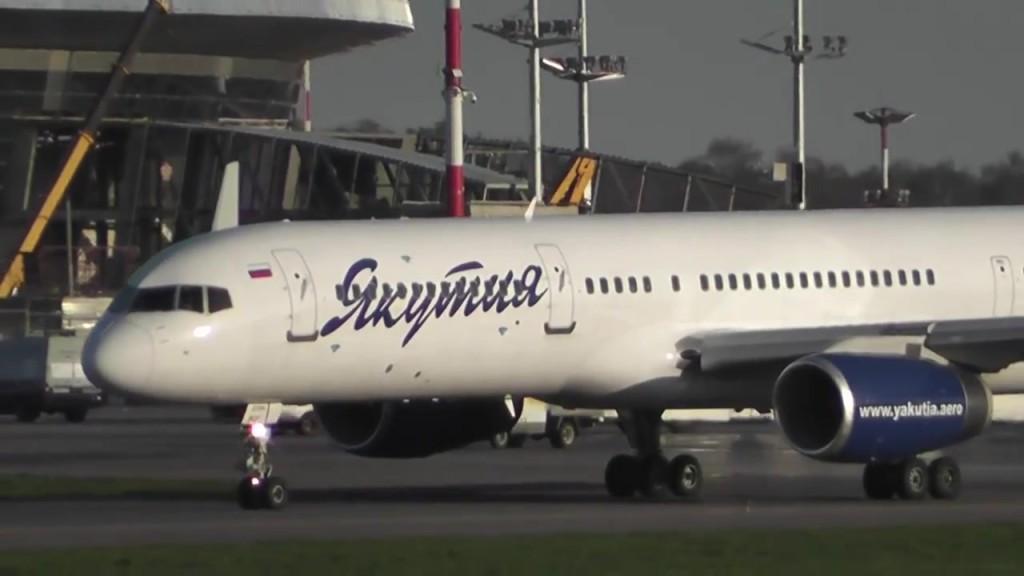 Якутские авиалинии R3478 Boeing 757